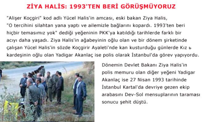 Amcası Bakan, Kendisi PKK Komutanı, Halaoğlu Şehit!..
