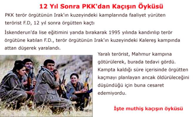 12 Yıl Sonra PKK'dan Kaçışın Öyküsü