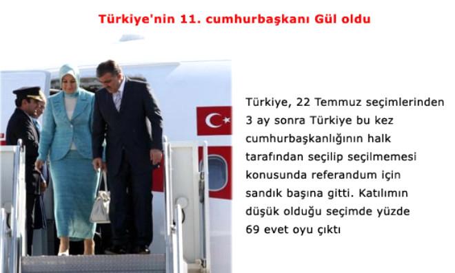 2007 Yılına Damgasını Vuran Olaylar...