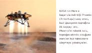Galeri: Mars'a İlk Kepçeyi Attı