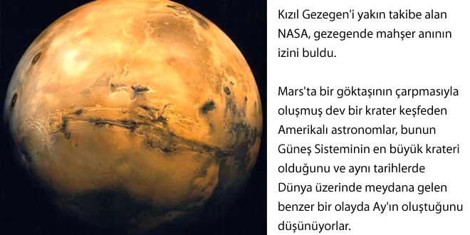 Mars'ta Mahşer Anı!