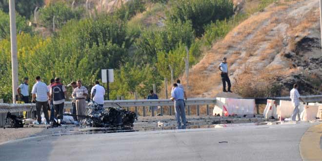 Teröristin Cesedi 1 Kilometrelik Alana Yayıldı