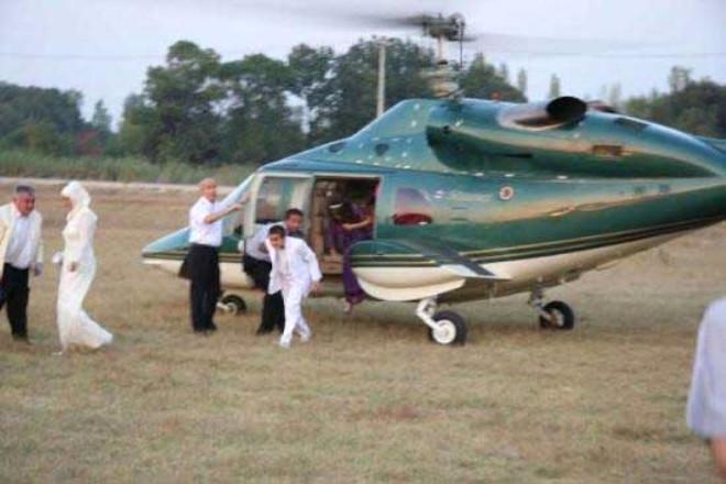 Helikopterli Sünnete İncelemeye