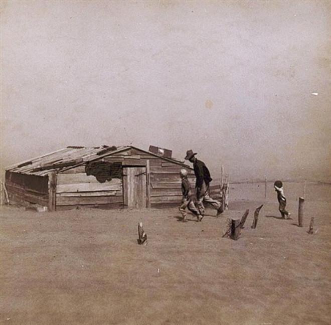Büyük Buhran'ın Fotoğrafları