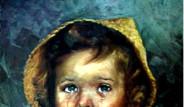 Galeri: 'Ağlayan Çocuk'  Tablosu Lanetli mi?