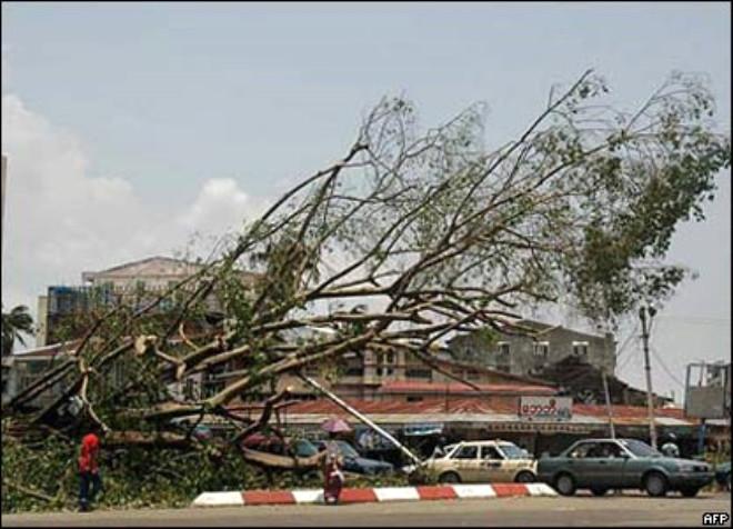 Fotoğraflarla Nergis Kasırgası