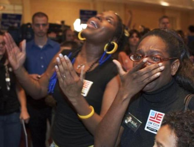 ABD'de Obama Sevinci