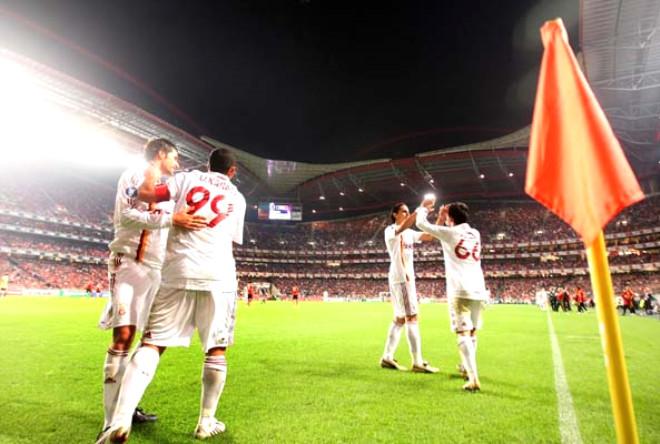 Benfica 0 - 2 Galatasaray