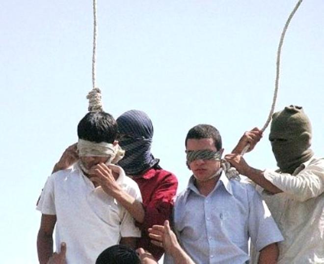 PKK'lılar İdam Ediliyor