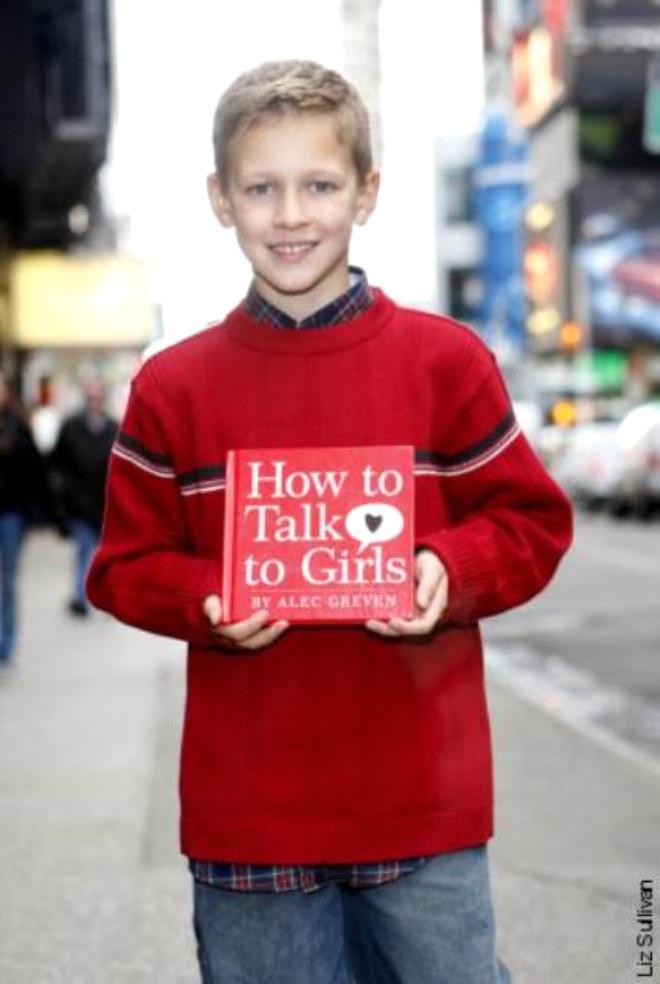 9 Yaşında Çapkınlığın Kitabını Yazdı
