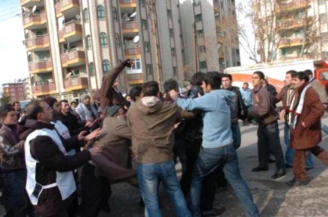 İsrail Protestosunda Olay Çıktı