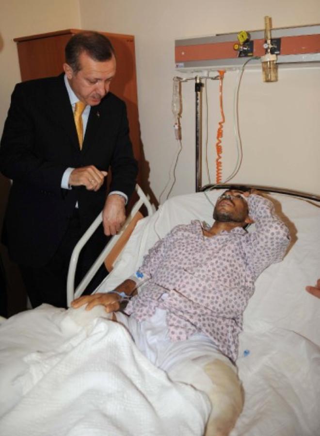 Filistinli Yaralılar Erdoğan'ı Ağlattı