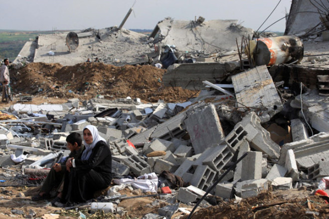 Geri Dönen Gazzeliler Gözlerine inanamadılar !