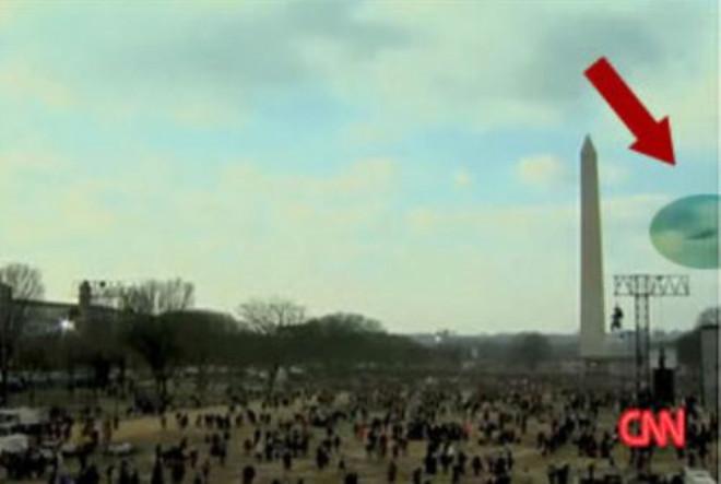 Obama'nın Yemin Törenini Ufolardamı İzledi !