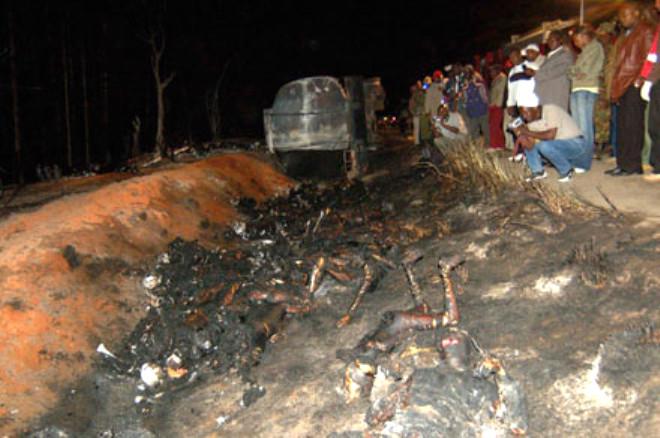 Kenya'da Korkunç Yangın