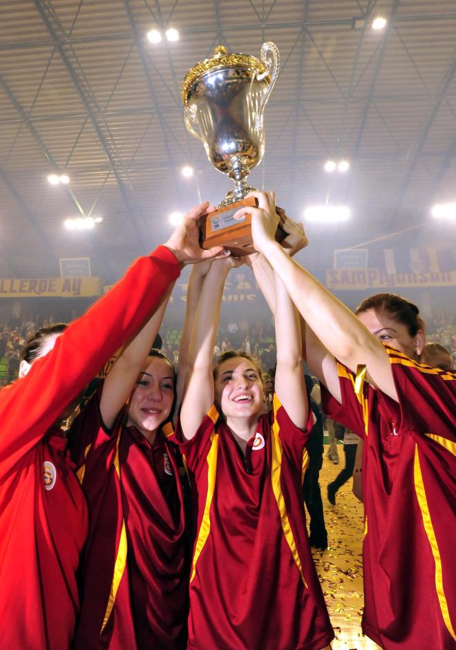 Aslan Kızlar Avrupa Şampiyonu