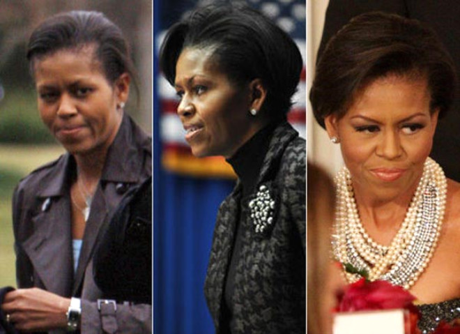Michelle Obama'nın Şaşırtan Değişimi