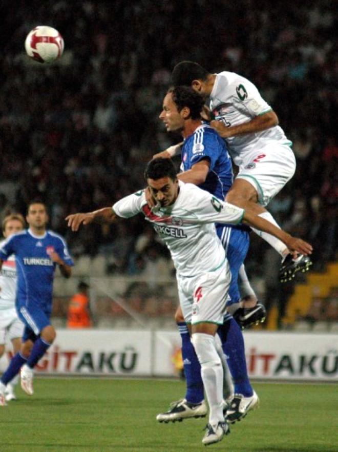 Sivasspor:0 Diyarbakırspor:2