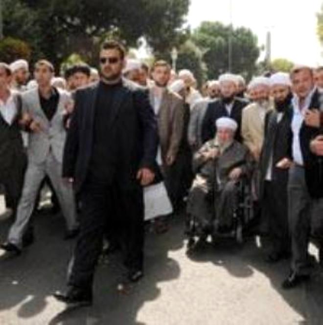 İsmail Ağa Cemaati Cenazede