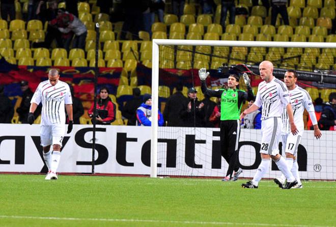 CSKA Moskova:2 Beşiktaş:1