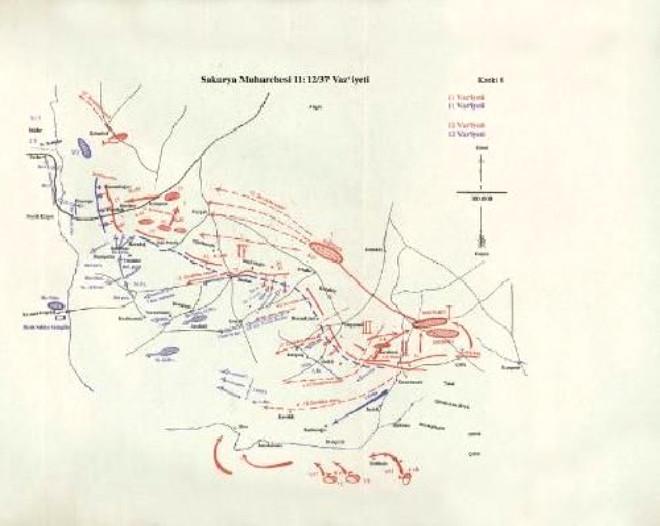 İşte Atatürk'ün Savaş Haritaları