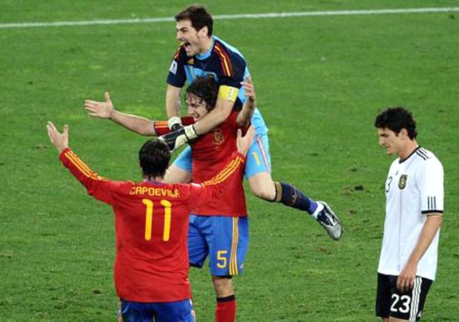 Almanya:0 İspanya:1