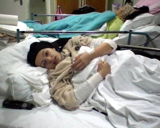 Kış Hastaneye Girdi