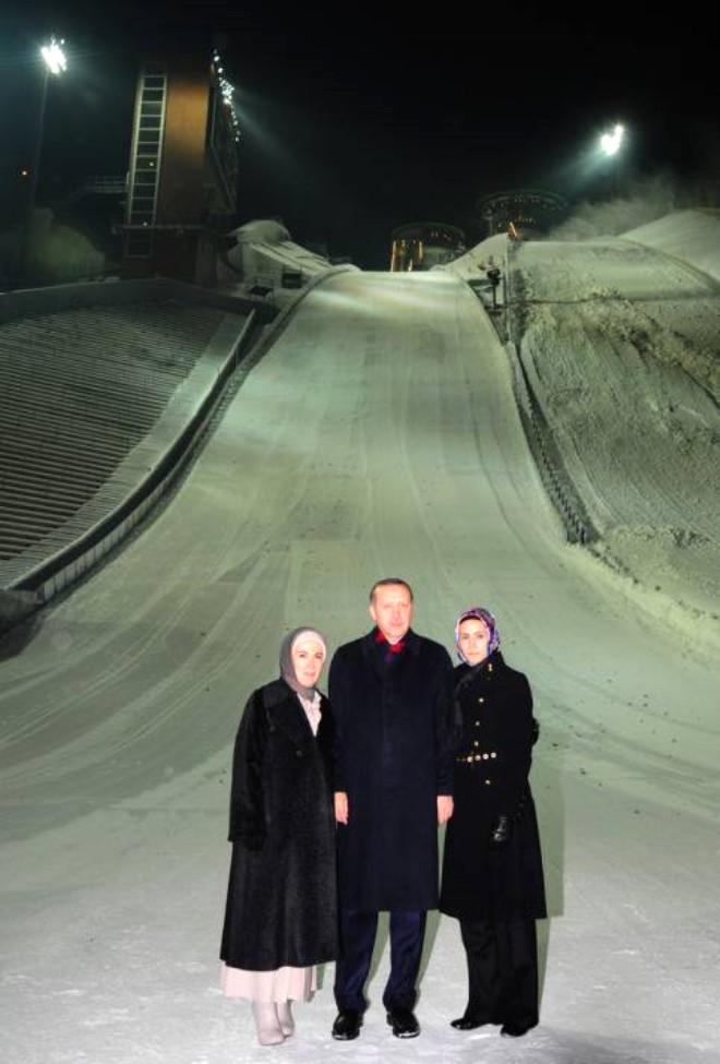 Erzurum'da Erdoğan Coşkusu