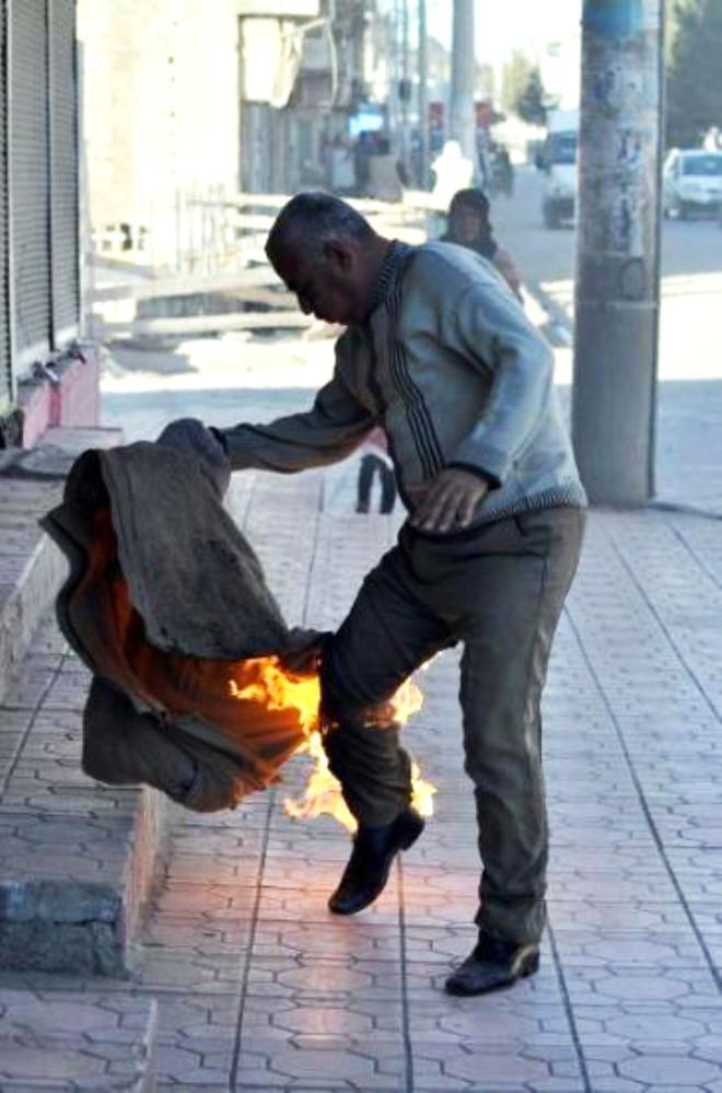 Diyarbakır'da Gergin Protesto