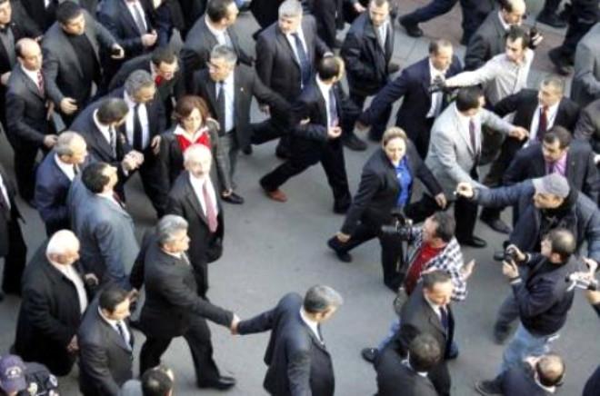 Kılıçdaroğlu'na Yoğun Güvenlik