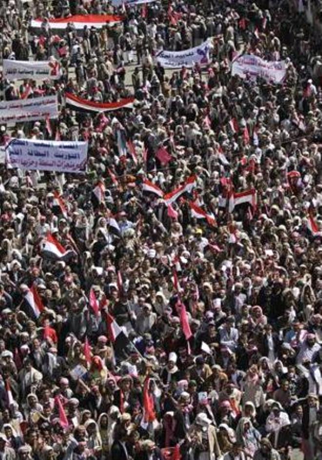 Yemen de İsyana Teslim