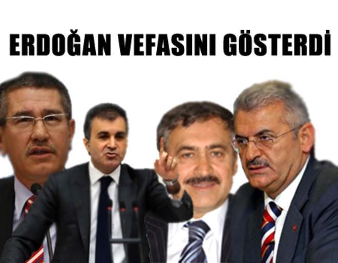 Erdoğan Vefasını Gösterdi