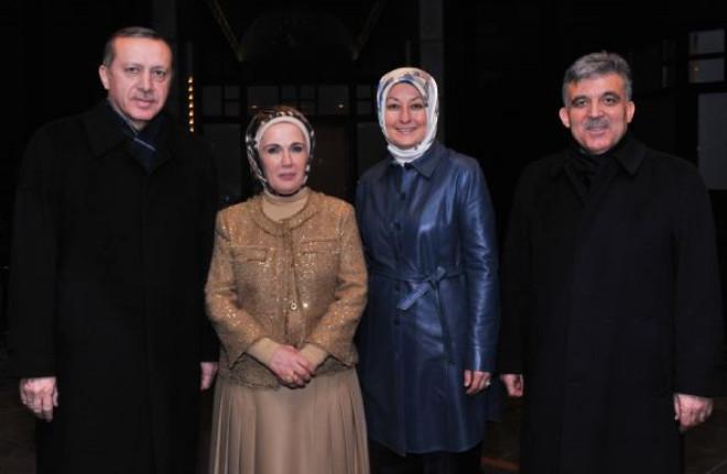 Erdoğan İle Gül Bir Araya Geldi