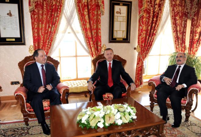 Erdoğan-Barzani Görüşmesi Sona Erdi