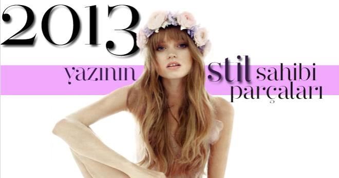 2013 Yazının Stil Sahibi Parçaları