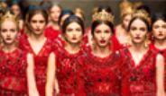 Galeri: Dolce&Gabbana'dan Kırmızı Şov!