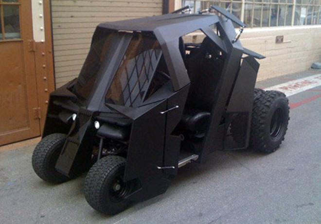 Batmobile Değil Golfmobile