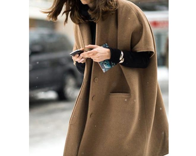 Trend Alarmı: Oversized Paltolar!