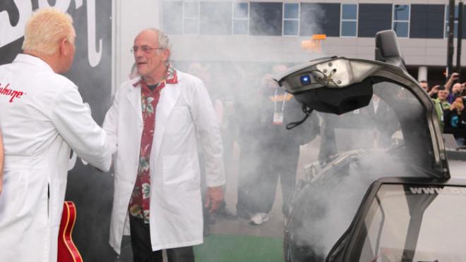 Christopher Lloyd, Zaman Makinesiyle Ces 2014'ü Bastı