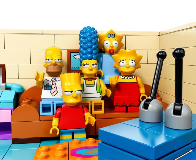 Lego'dan The Simpsons Oyuncakları