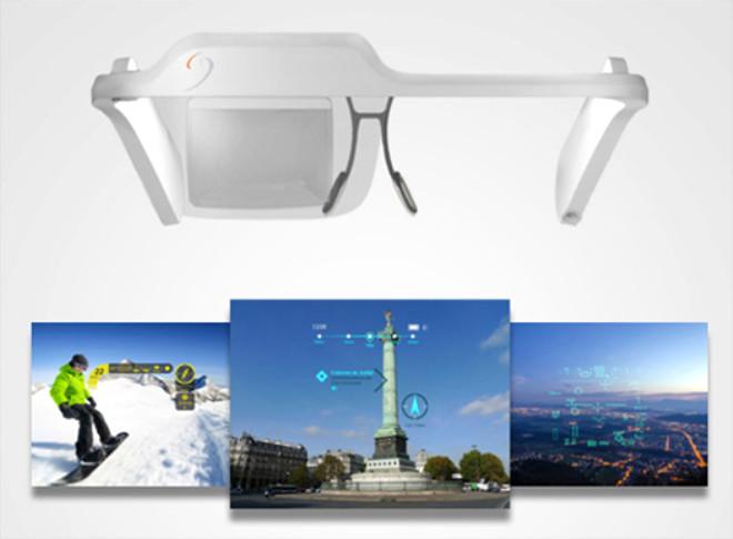 350 $'lık Google Glass Alternatifi: Laster Seethru