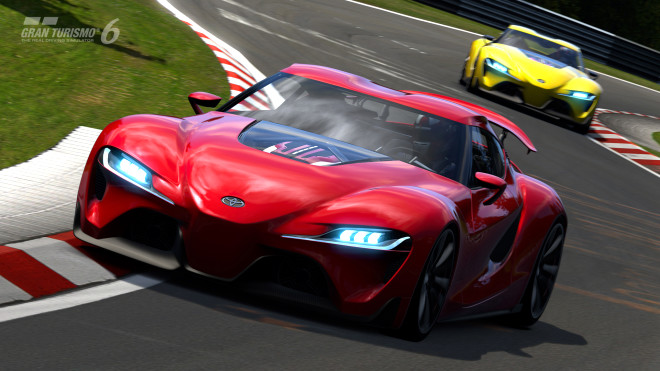 Konsept Otomobil Toyota Ft-1 Gran Turismo 6'da