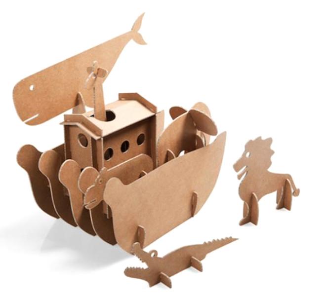 Kartondan Mobilyalara Evde Yer Açmak İçin Neden