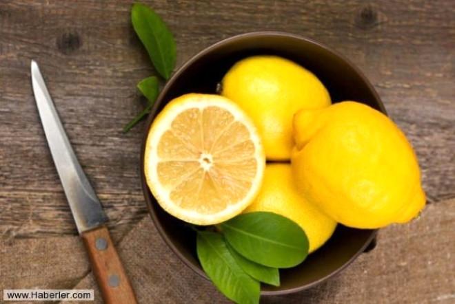 Limonun Bilmediğiniz Kullanım Alanları