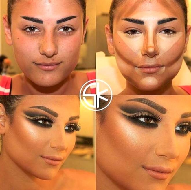 Lübnanlı Makyözden, Makyajın Gücünü Gösteren 15 Kare