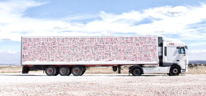 Fotoğraflarla Truck Art: Kamyonları Sanat Eserleriyle Süsleyen Proje