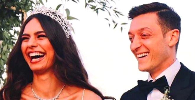 Amine Gülşe ve Mesut Özil'in düğünü ünlü akınına uğradı