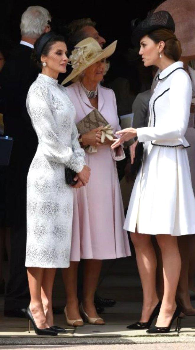 Şıklık düellosu: Kate Middleton ve Kraliçe Letizia