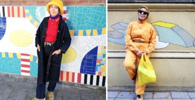 66 yaşındaki başörtülü fenomen sosyal medyayı sallıyor!
