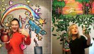Galeri: Instagram fenomeni kadın, aynalara hayat veriyor